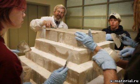 пирамиды из бетона