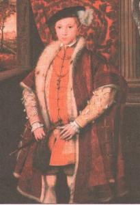Эдуард VI. Во время его правления был казнен несчастный священник