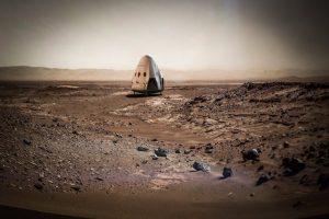 модуль посадки Space X