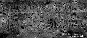 узоры на луне