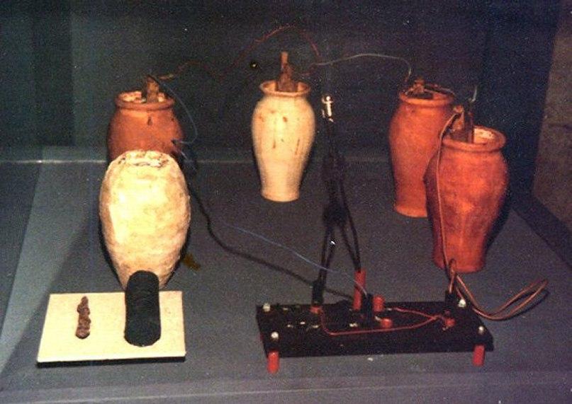 Древние батареи в Багдаде