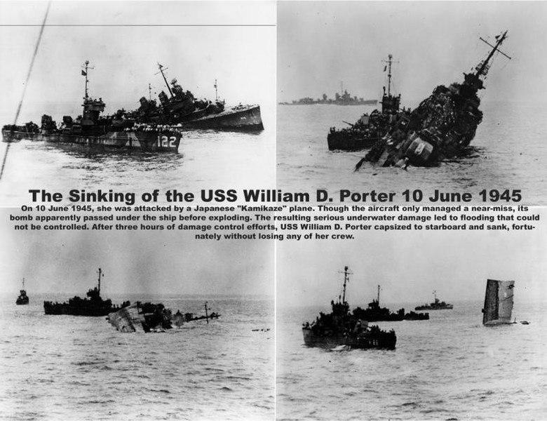 Мистически невезучий американский эсминец «Уильям Д.»