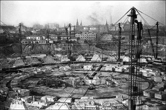 Дворец Советов в Москве: проект.