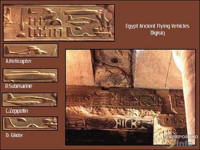 Разоблачение барельефа на древнем египетском храме
