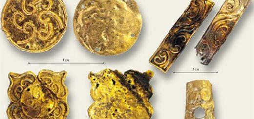 Золотые украшения одежды