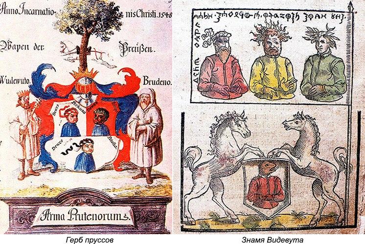 Древние прусские божества