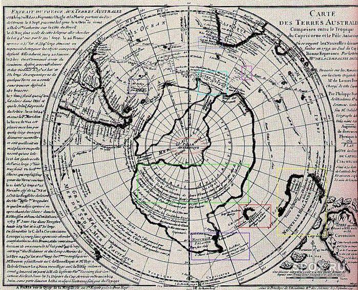 антарктида без льда