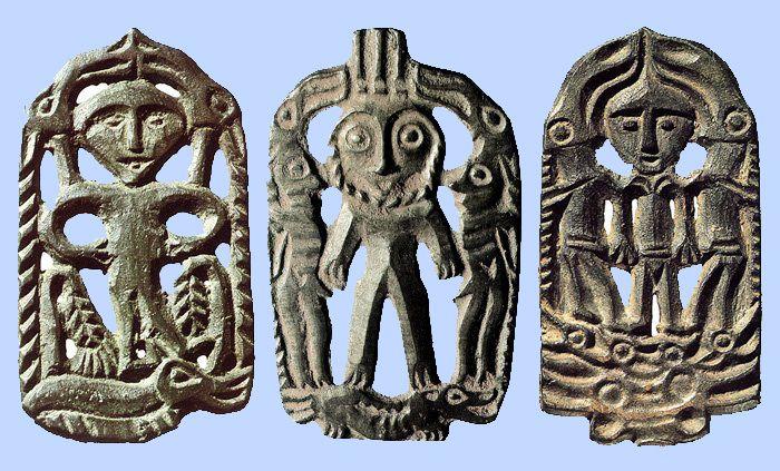 Авторство этих пермских фигурок местные жители коми и коми-пермяки приписывали народу чудь