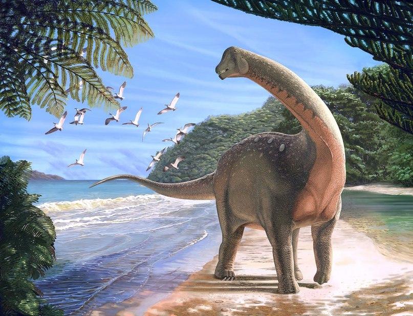 динозавр рисунок