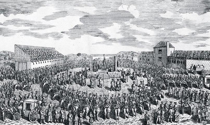 Холм Тайберн — традиционное место публичных казней в Лондоне