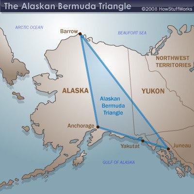 треугольник на Аляске