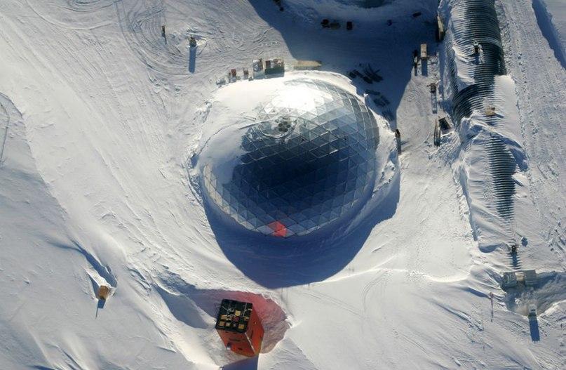 бункер в антарктиде