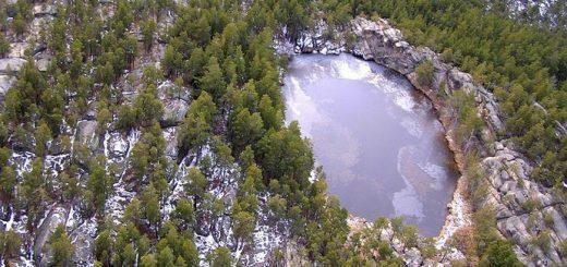 Шайтанколь – Чертово озеро.