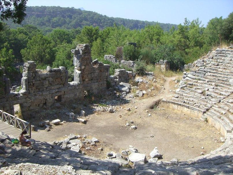 Развалины Фаселиса (сегодня это территория Турции)