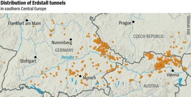 тоннели под европой