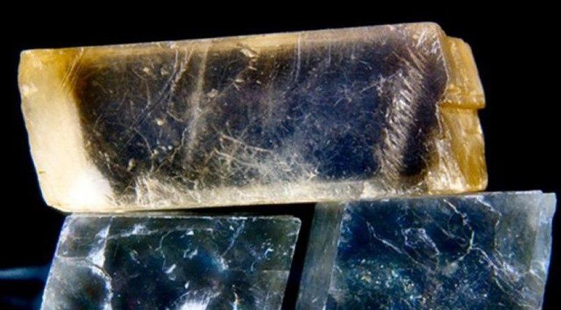 Во времена викингов волшебный «Солнечный камень» помогал мореплавателям находить дорогу в отсутствие солнца