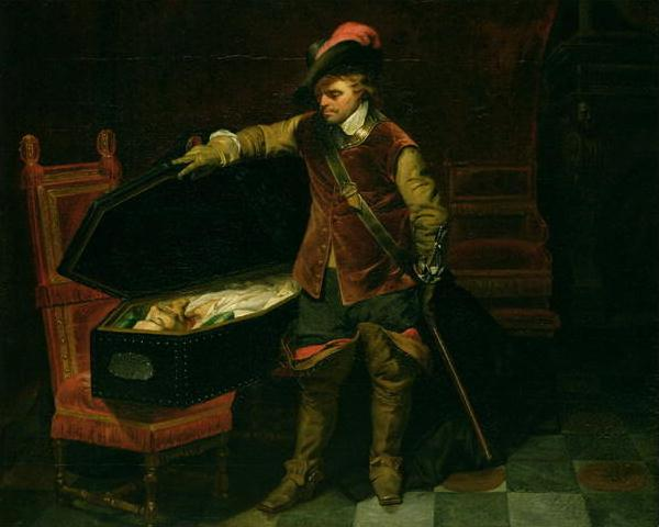 Кромвель у тела казнённого короля Карла I
