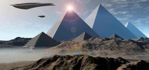 горный космодром инопланетян