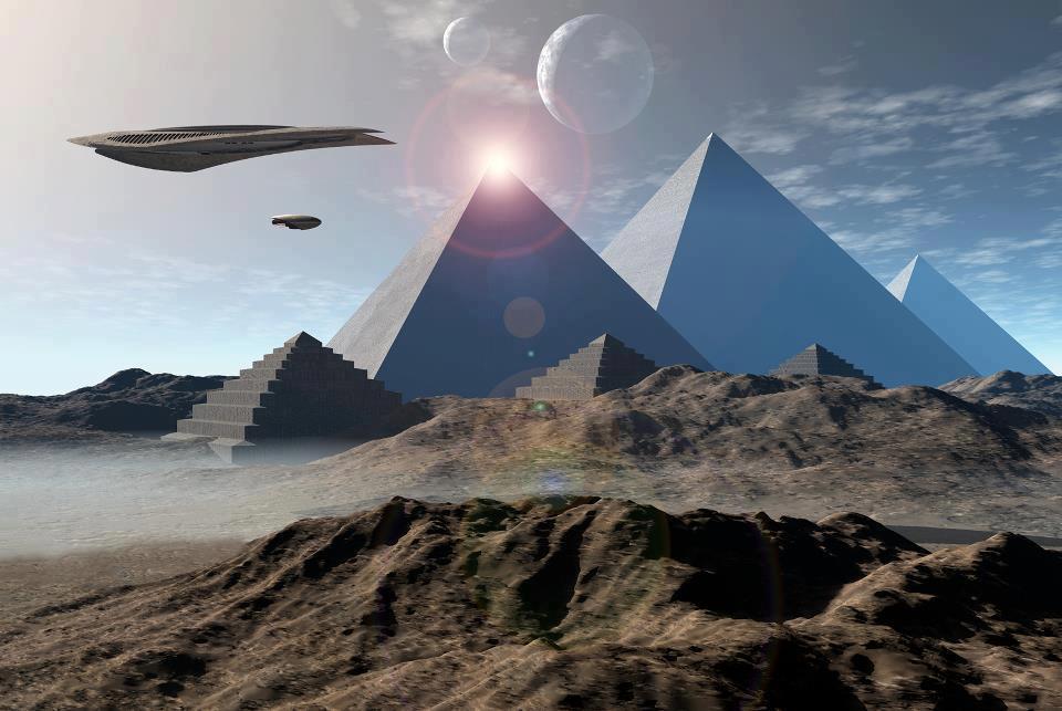 Горные космодромы для НЛО