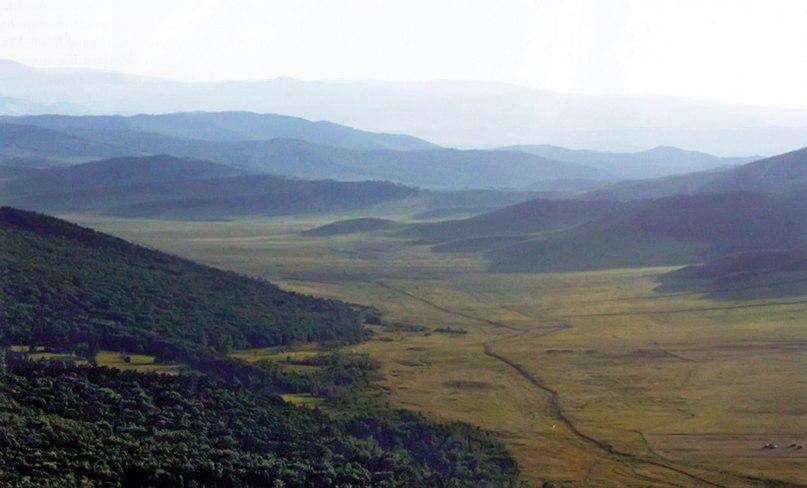 Вид на долину реки Суцзуктэ
