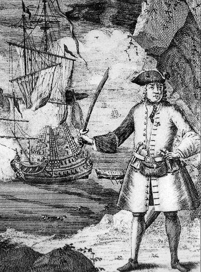 Капитан Эвери, гравюра 1702 года