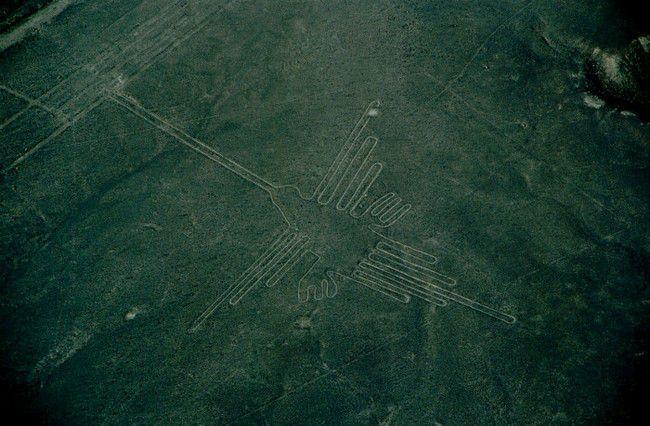 рисунки в перуанской пустыне Наска