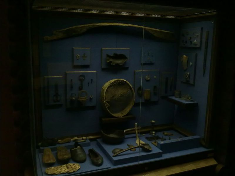 предметы из Мангазеи в музее