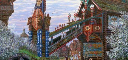 картина русских городов