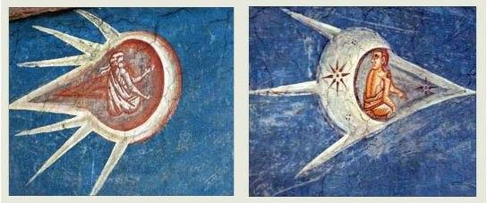 Фрагменты картины «Распятие» Александра Пауновича.