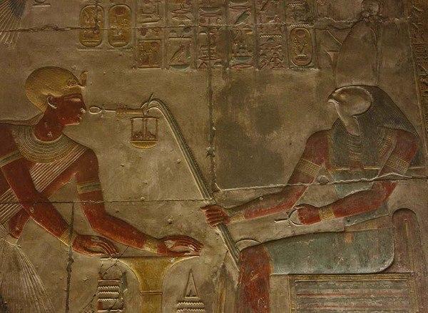 Атрибуты египетских богов