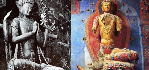 руины, Тибет
