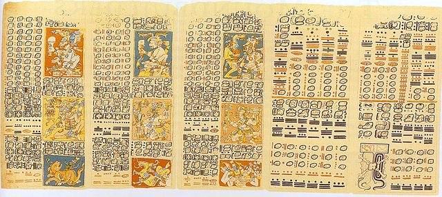 письма с древнего Юкатана