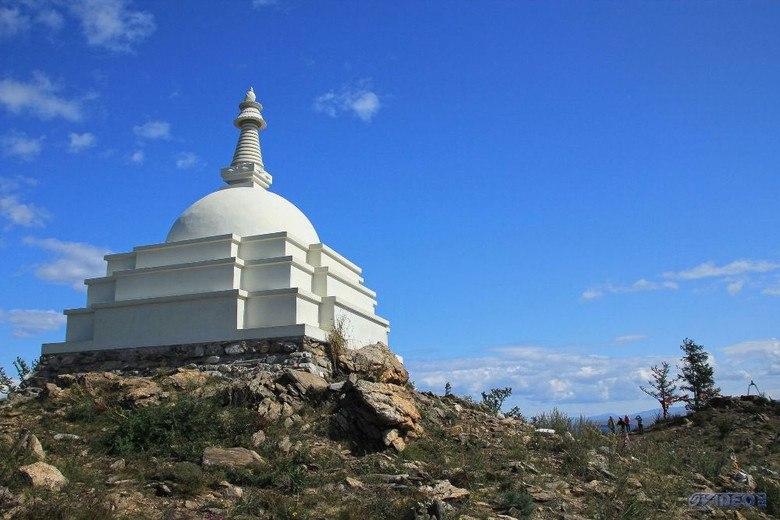Объемная мандала - Буддийская ступа