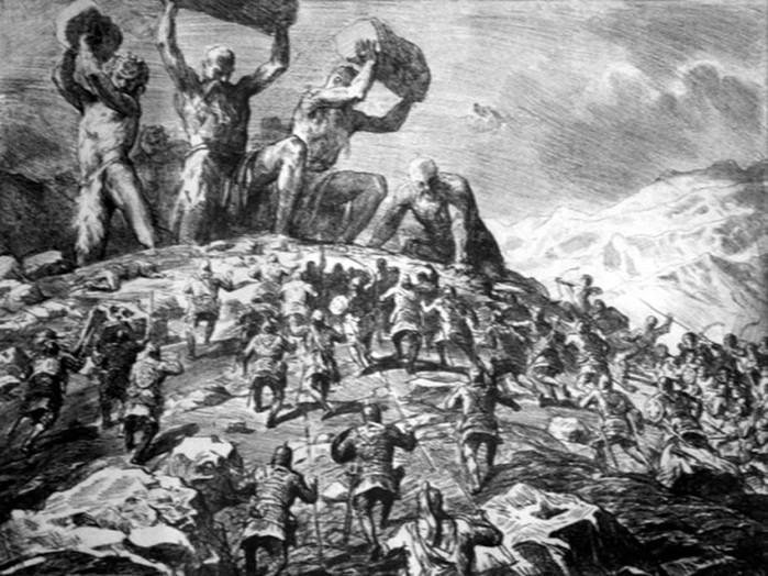 гиганты на войне