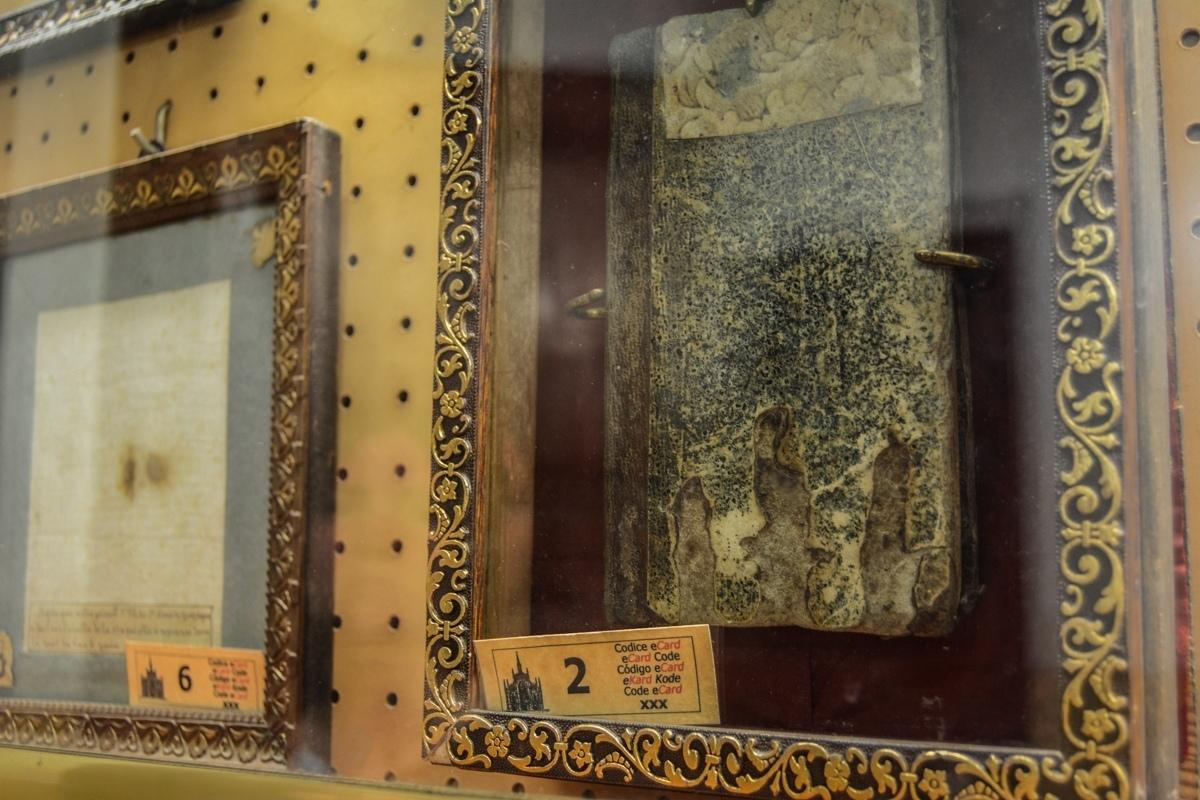 экспонат музея душ чистилища в Риме