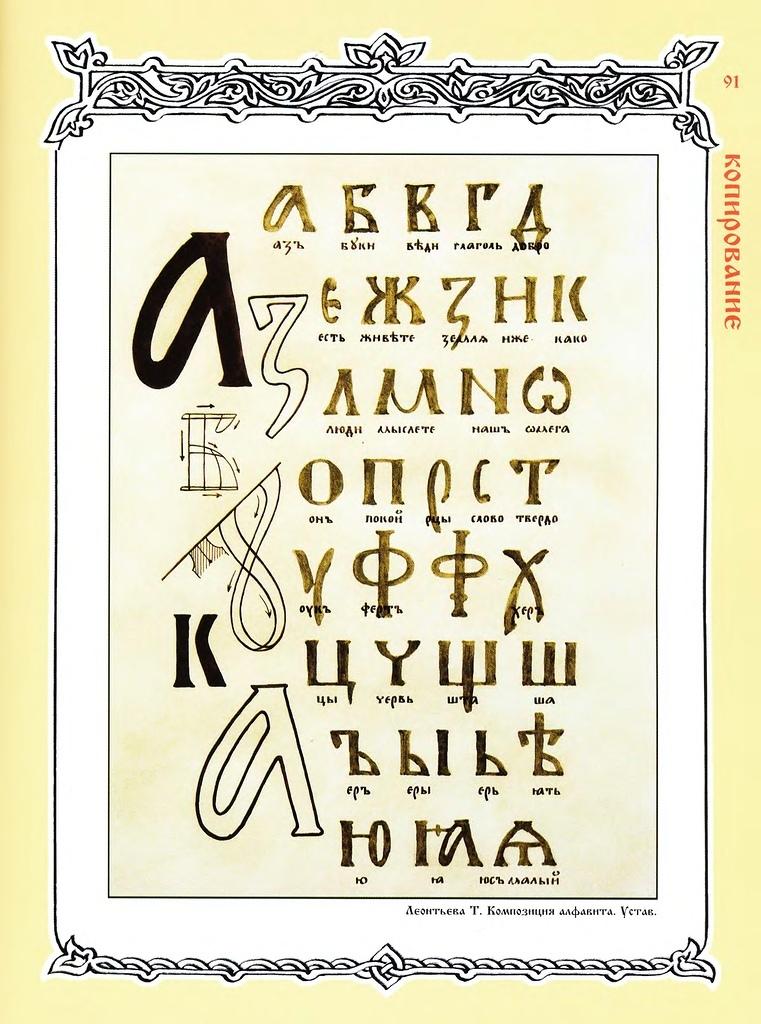 Праславянская Азбука