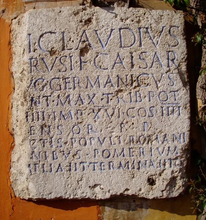 Клавдиевская таблица о расширении померия
