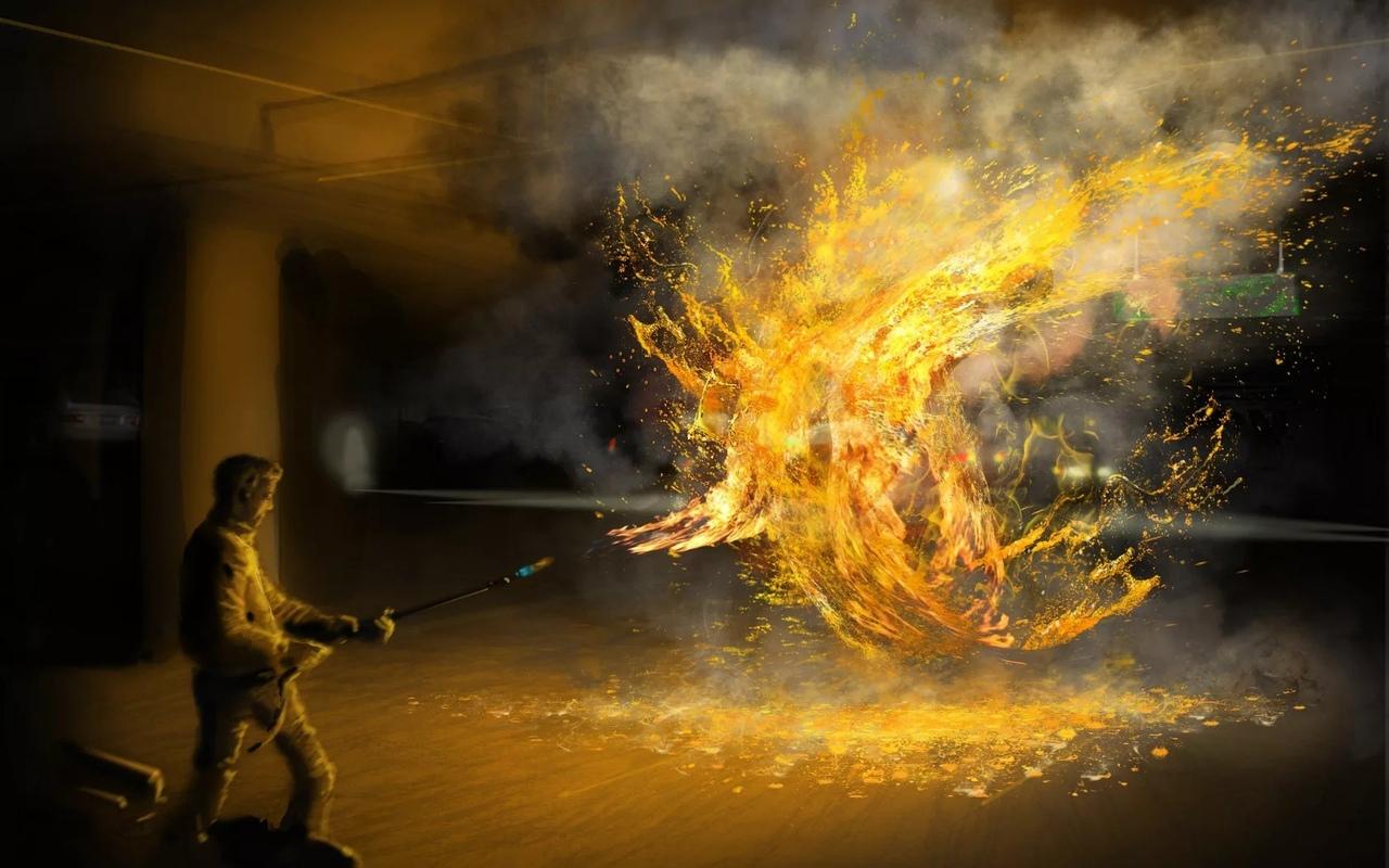 Самовозгорание людей