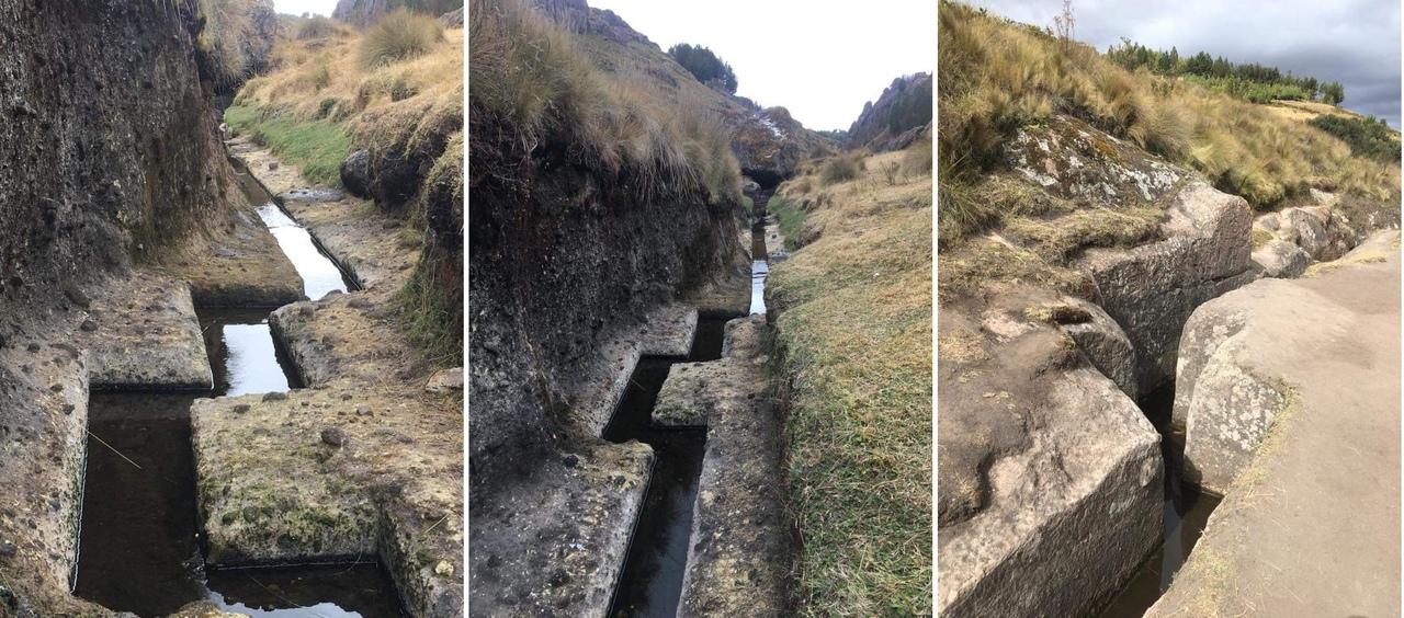 водный канал инков в Перу