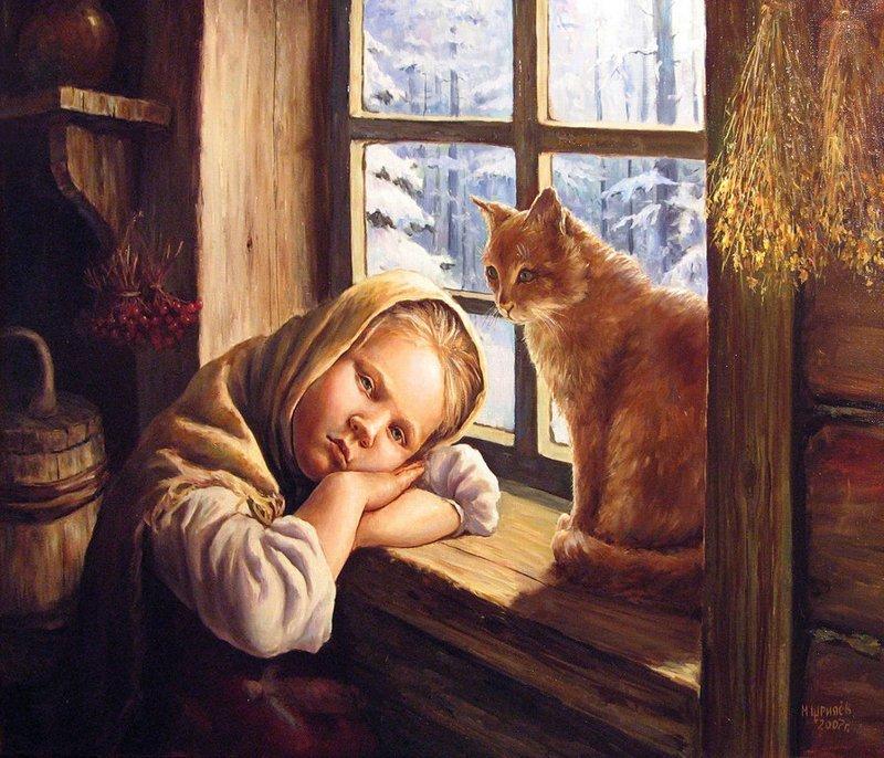кошка в славянской культуре
