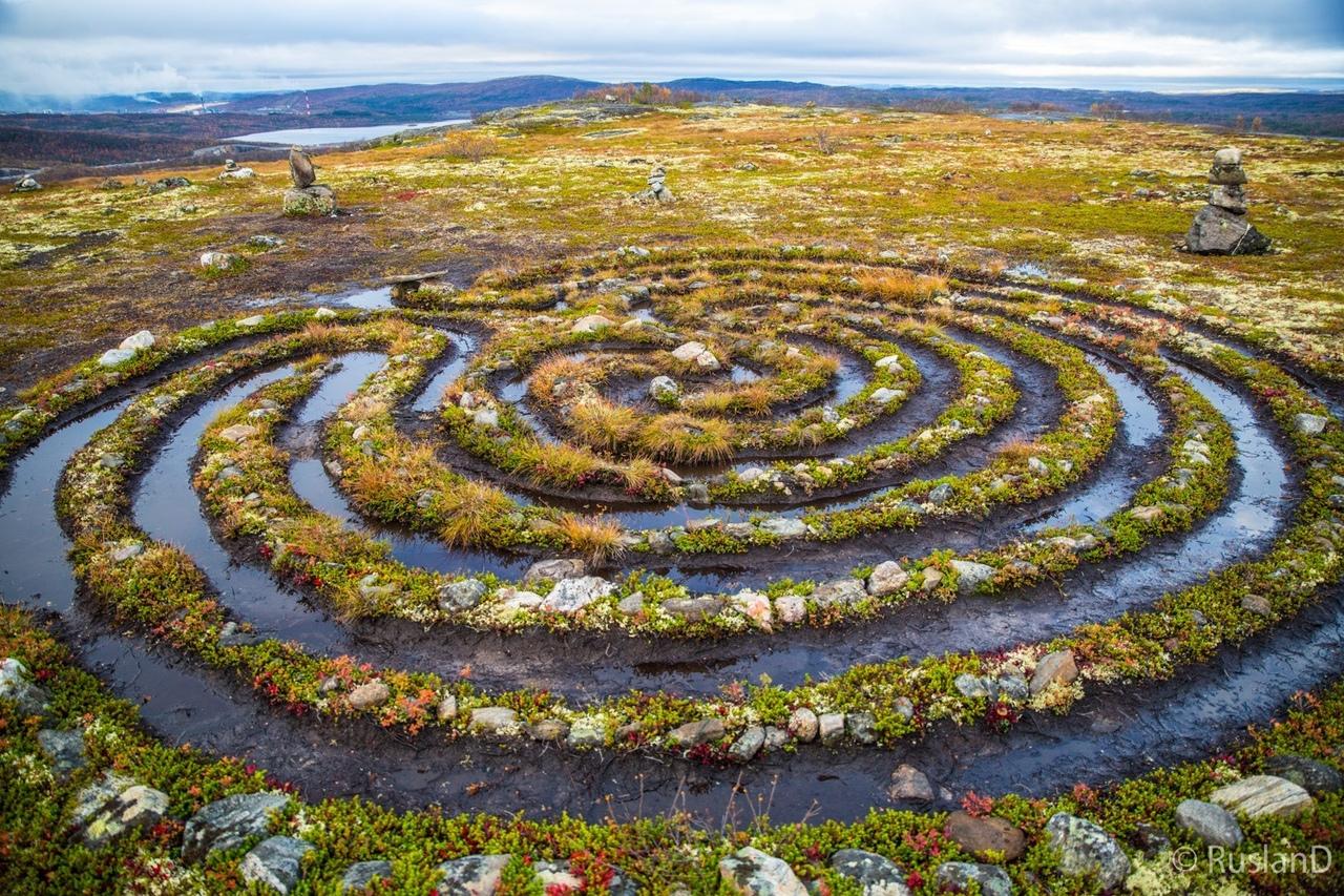 Валуны и лабиринты Соловецких островов