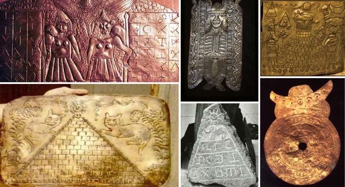 Исчезнувшие древние артефакты