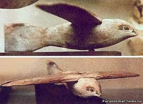 древний самолет