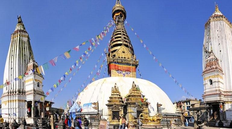 Непальский холм Сваямбунатх