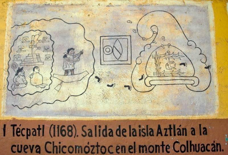 Затерянный город Ацтлан — родина ацтеков