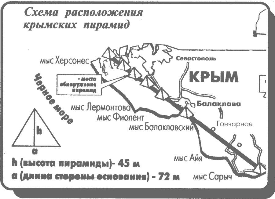 Древние подземные пирамиды Крыма