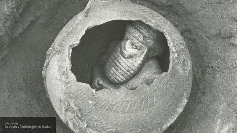 статуэтка из шумерского Урука