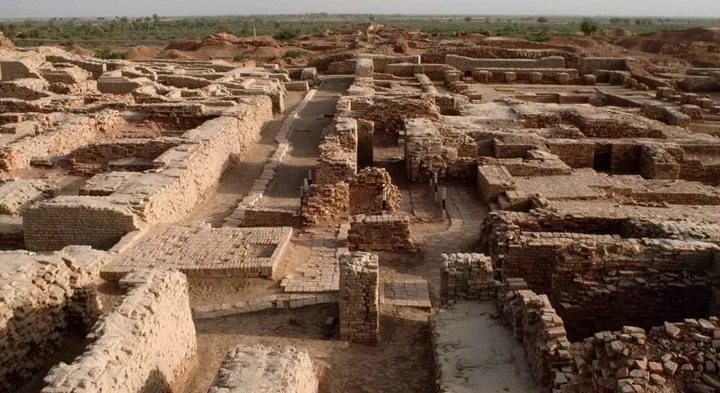 Древнеиндийский город