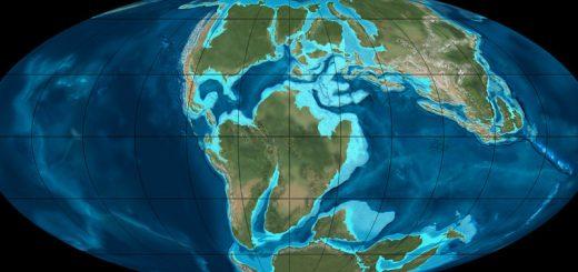 карта древней земли