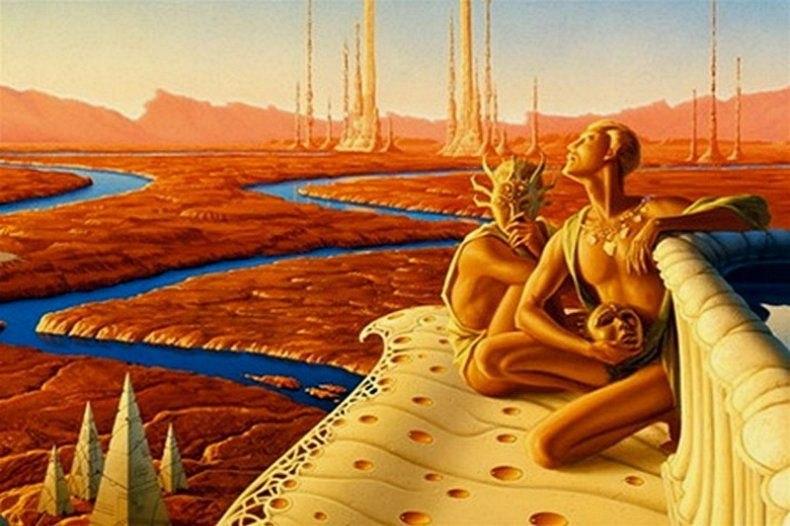 Марсианский язык Элизы Мюллер